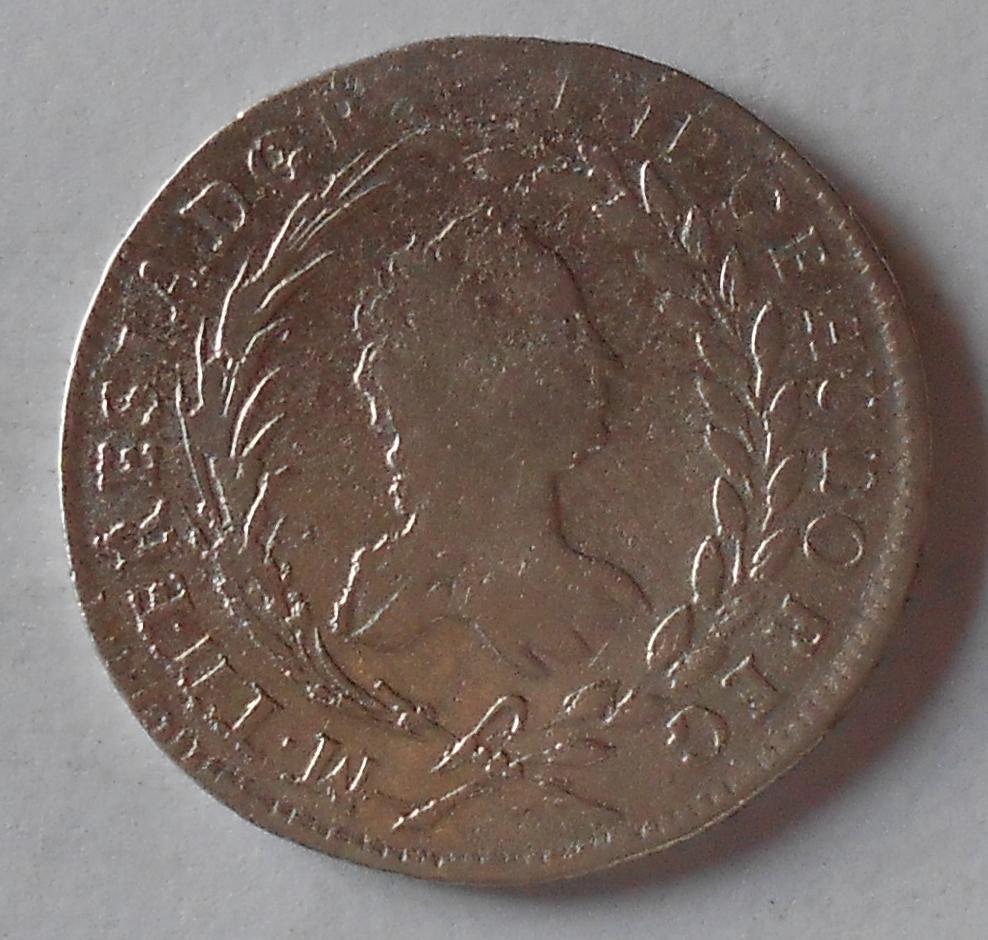 Čechy-Praha 20 Krejcar 1759 Marie Terezie