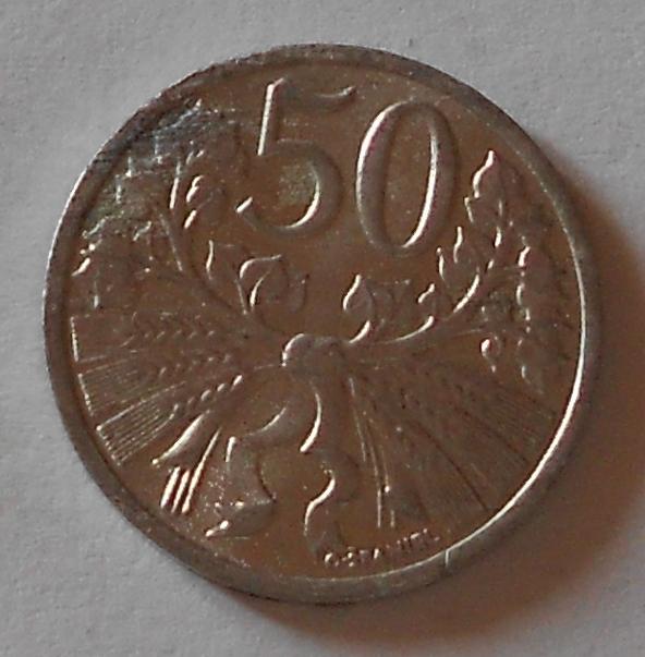 ČSR 50 Haléř 1953