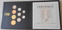 ČSR Sada mincí 2001 proof