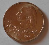 ČSSR 20 Koruna 1972 Sládkovič