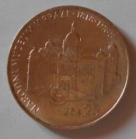 ČSSR 25 Koruna 1968 Nár. muzeum
