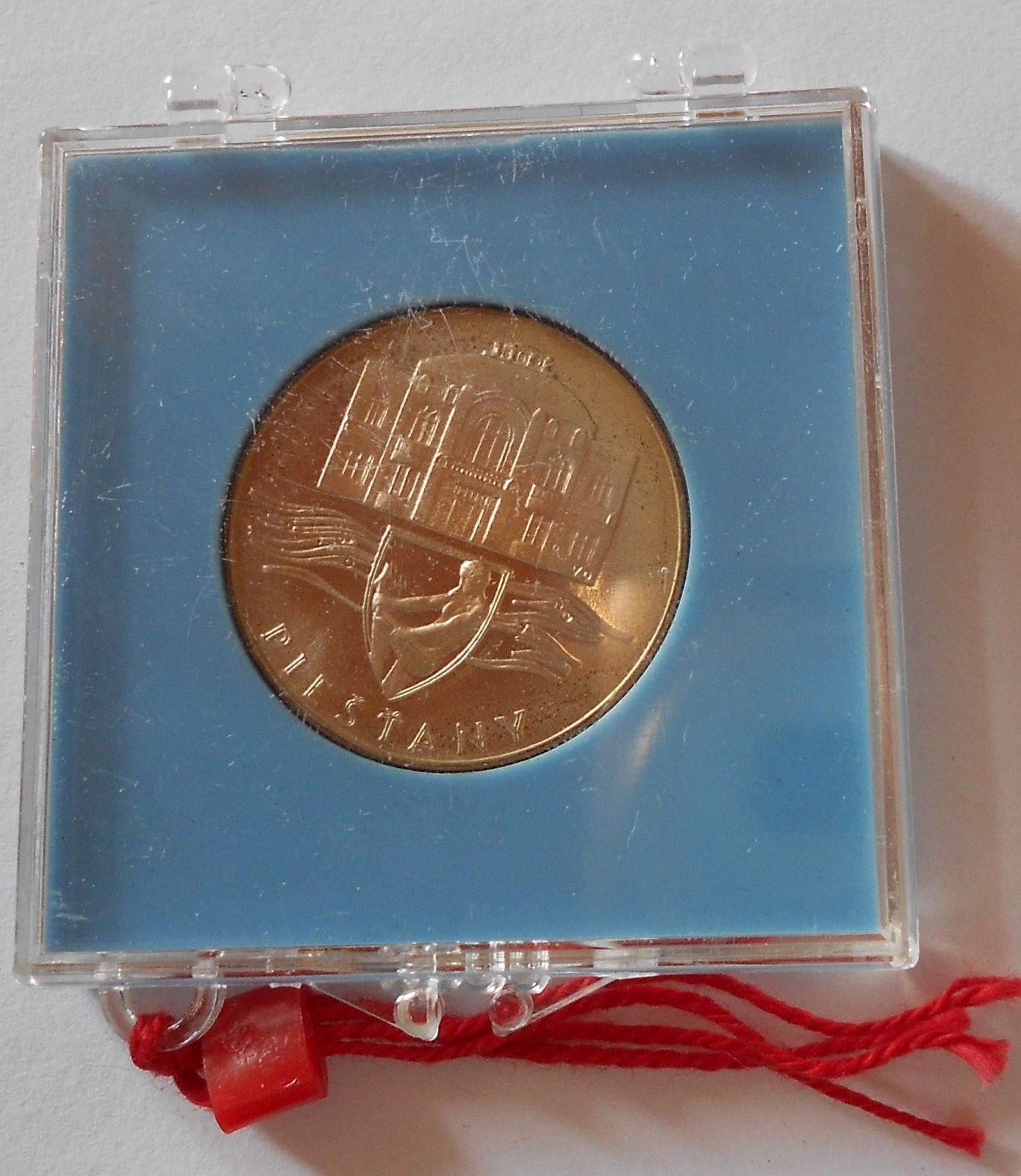 ČSSR 50 Koruna 1991 Piešťany, PROOF