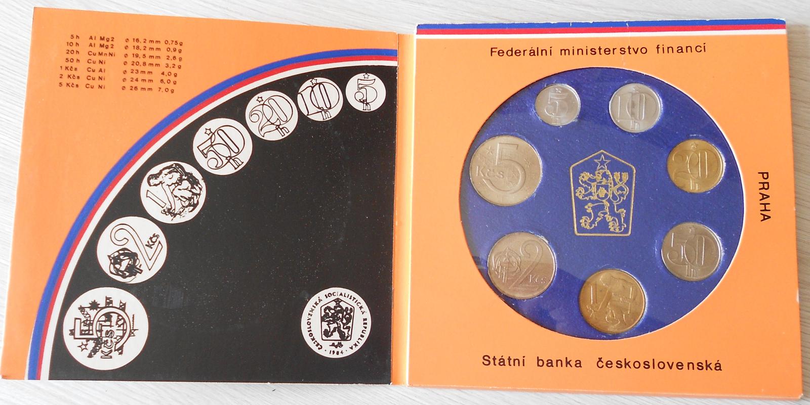 ČSSR Sada 1988