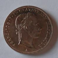 Rakousko 1/4 Gulden/Zlatník 1858 A