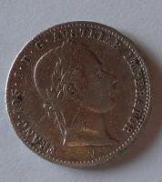 Rakousko 1/4 Gulden/Zlatník 1859 V