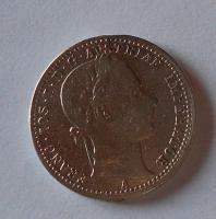 Rakousko 1/4 Gulden/Zlatník 1862 A měl ouško