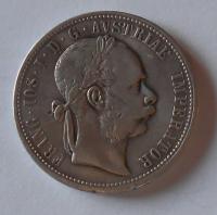 Rakousko 1 Gulden/Zlatník 1872