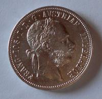 Rakousko 1 Gulden/Zlatník 1892 stav