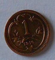 Rakousko 1 Haléř 1910