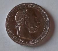 Rakousko 1 Koruna 1902 pěkná