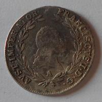 Rakousko 20 Krejcar 1809 A František II.