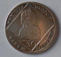Rakousko 30 Krejcar 1748 Marie Terezie