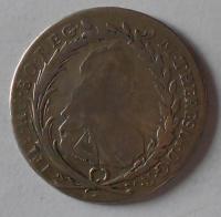 Rakousko EUS-IC 20 Krejcar 1779 Praha Marie Terezie
