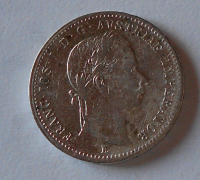 Rakousko ? Gulden/Zlatník 1859 E