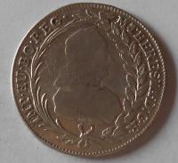 Rakousko IC-SK 20 Krejcar 1770 Marie Terezie