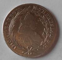 Rakousko ICSK 20 Krejcar 1770 Marie Terezie