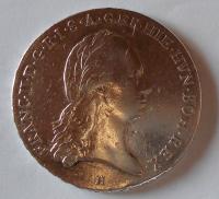 Rakousko Tolar Křížový 1796 H František II.