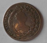 Rakousko-Vídeň 20 Krejcar 1757 Marie Terezie