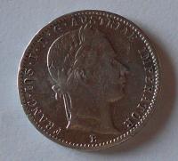Uhry 1/4 Gulden/Zlatník 1860 B