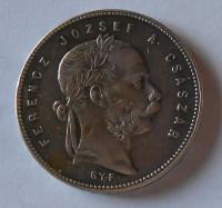 Uhry 1 Gulden/Zlatník 1869 GYF