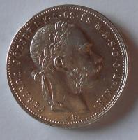 Uhry 1 Gulden/Zlatník 1881 KB