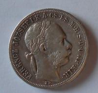 Uhry 1 Gulden/Zlatník 1887 KB