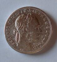 Uhry 1 Gulden/Zlatník 1888 KB
