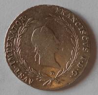 Uhry 20 Krejcar 1827 B František II.