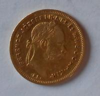 Uhry 4 Gulden/Zlatník 1871 KB
