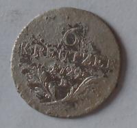 Uhry 6 Krejcar 1795 B František II.