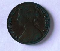 Anglie 1 Peny 1861 Viktorie