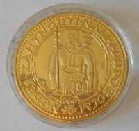 ČSR dukát sv. Václav, průměr 40 mm