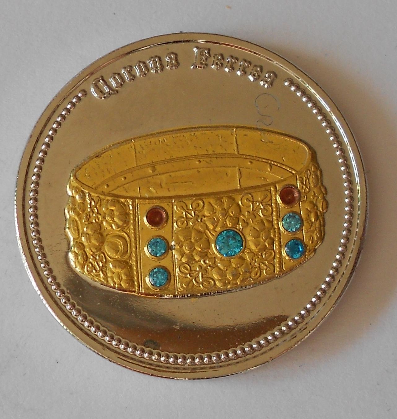 ČSR Italská královská koruna , průměr 40 mm