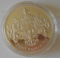 ČSR Karel IV., čeští panovníci, průměr 40 mm