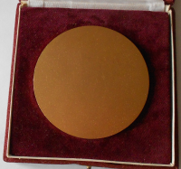 ČSR Medaile za rekord Evžena Rosického, průměr 80 mm