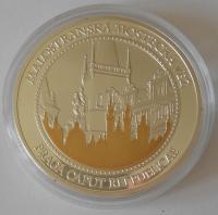 ČSR Mostecká věž – zlatá Praha, průměr 40 mm