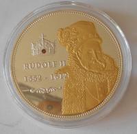 ČSR Rudolf II., čeští panovníci , průměr 40 mm
