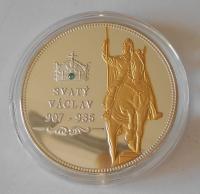 ČSR sv. Václav, čeští panovníci , průměr 40 mm