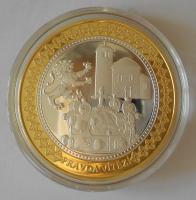 ČSR Sv. Václav – zlatá Praha, česká historie, průměr 40 mm