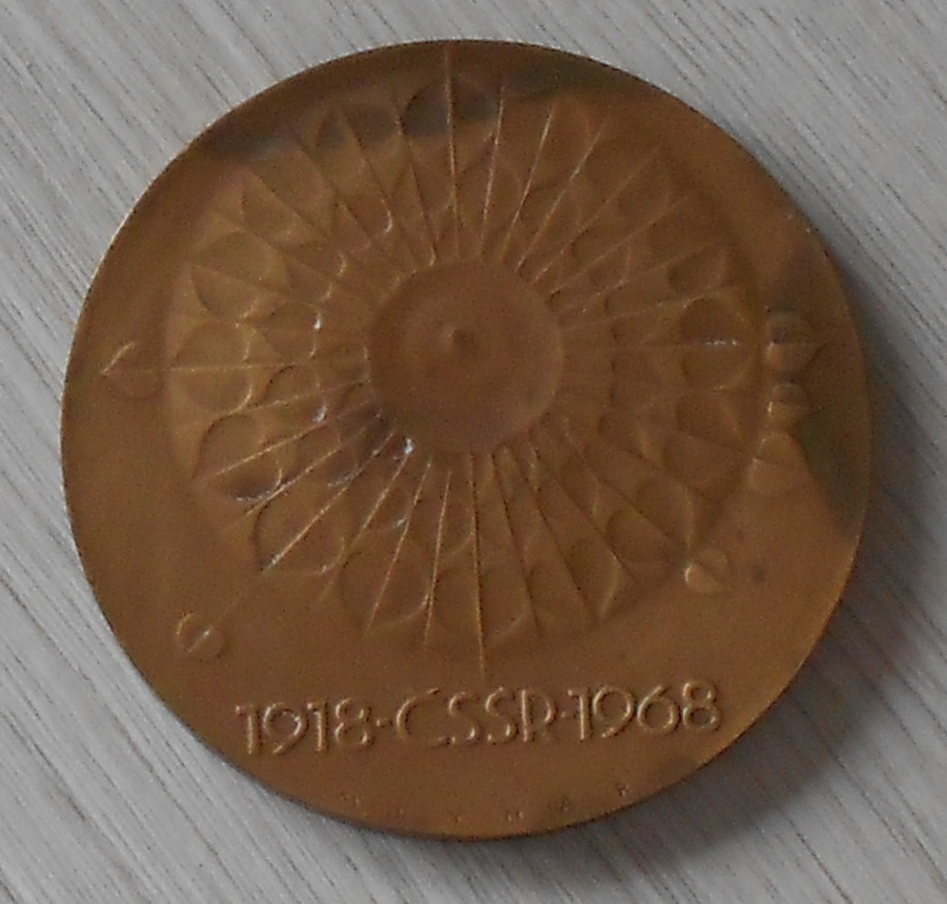 ČSSR 50 let vzniku státu 1918-68