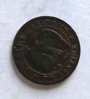 Francie 1 Centime 1854 Napoleon III.