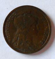 Francie 10 Cent 1916 stav