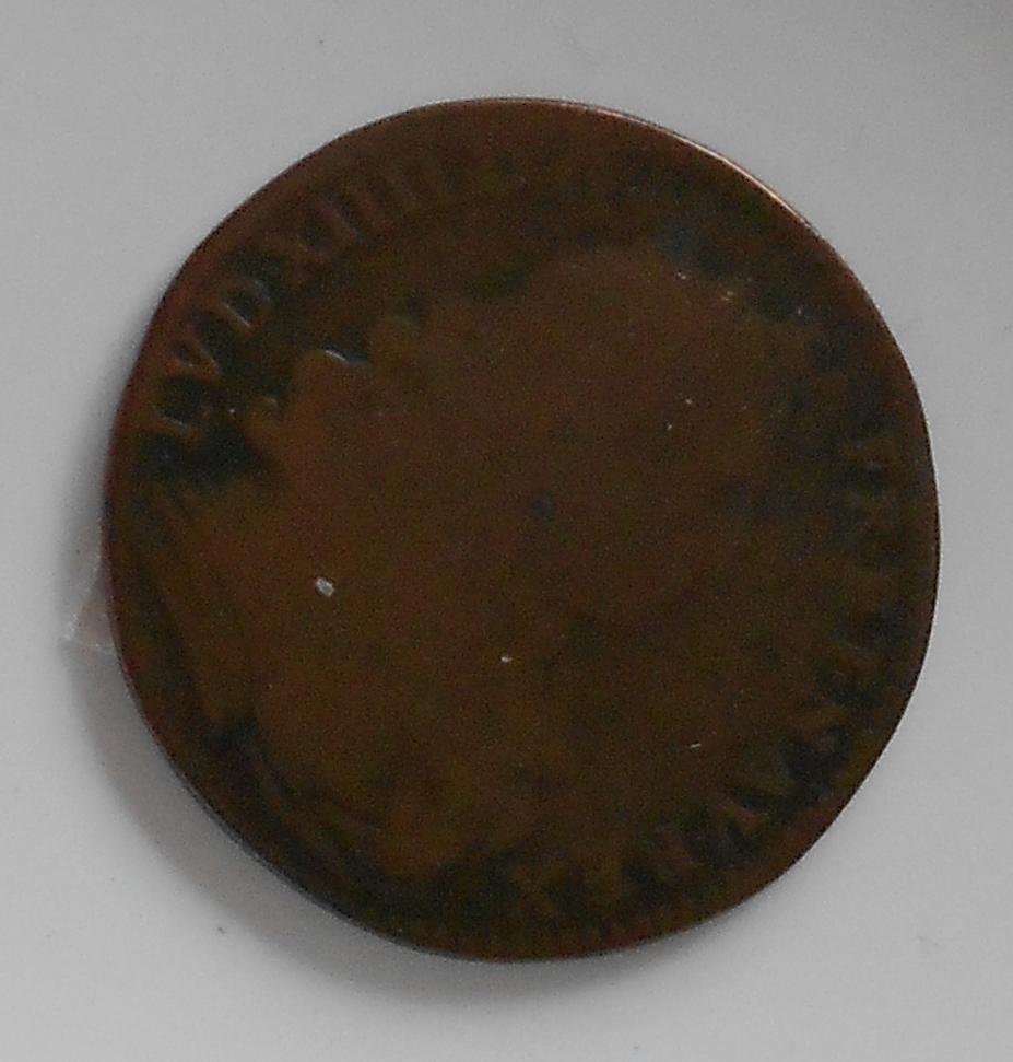 Francie Žeton 1671 Ludvík XIV.