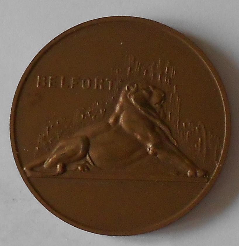 Francie Znak města Belfort 1968