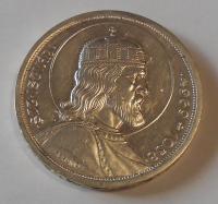 Maďarsko 5 Pengö – Svatý Štěpán 1938
