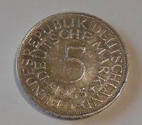 Německo 1 Marka 1965 J