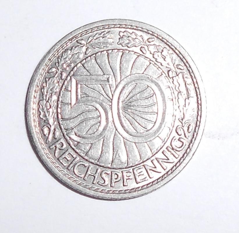 Německo 50 Pfenik 1928 A