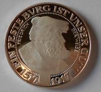 Prusko 3 Marka 1517-1917 Bedřich, pamětní Ag novoražba