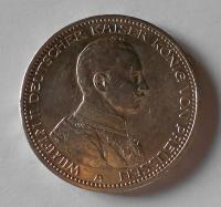 Prusko 5 Marka 1913 A Vilém II.