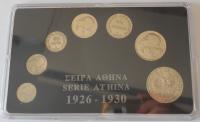 Řecko Sada mincí 1926